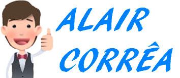 Logo Branco Alair Corrêa