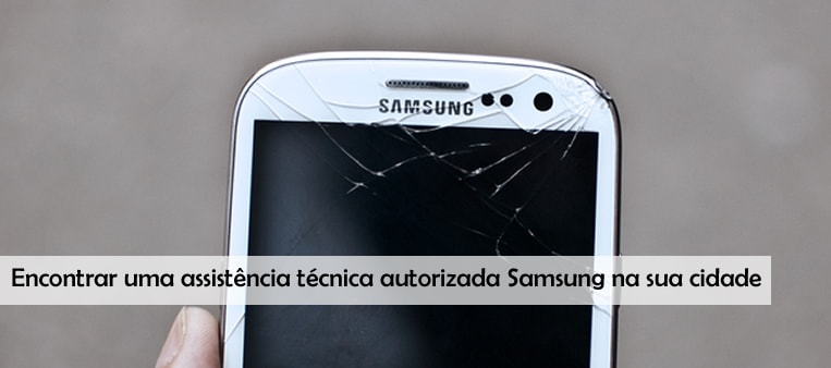 Como usar o suporte da Samsung