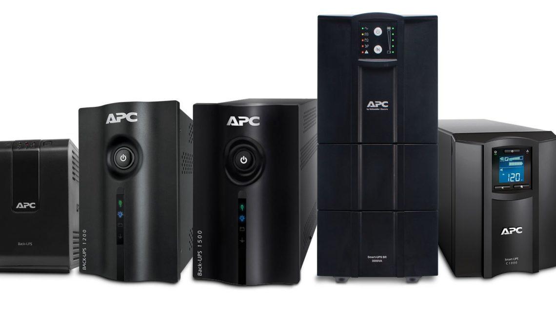 APC lidera vendas de equipamentos nobreak