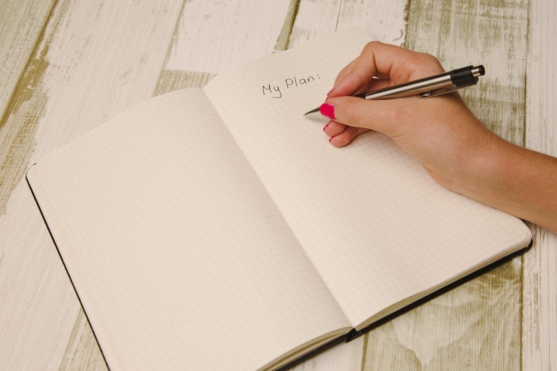 livro de planejamento