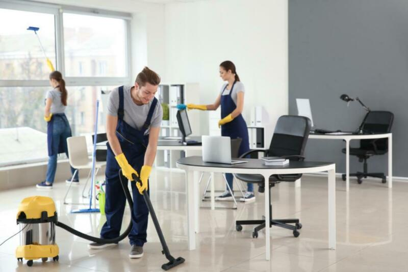 serviço de limpeza